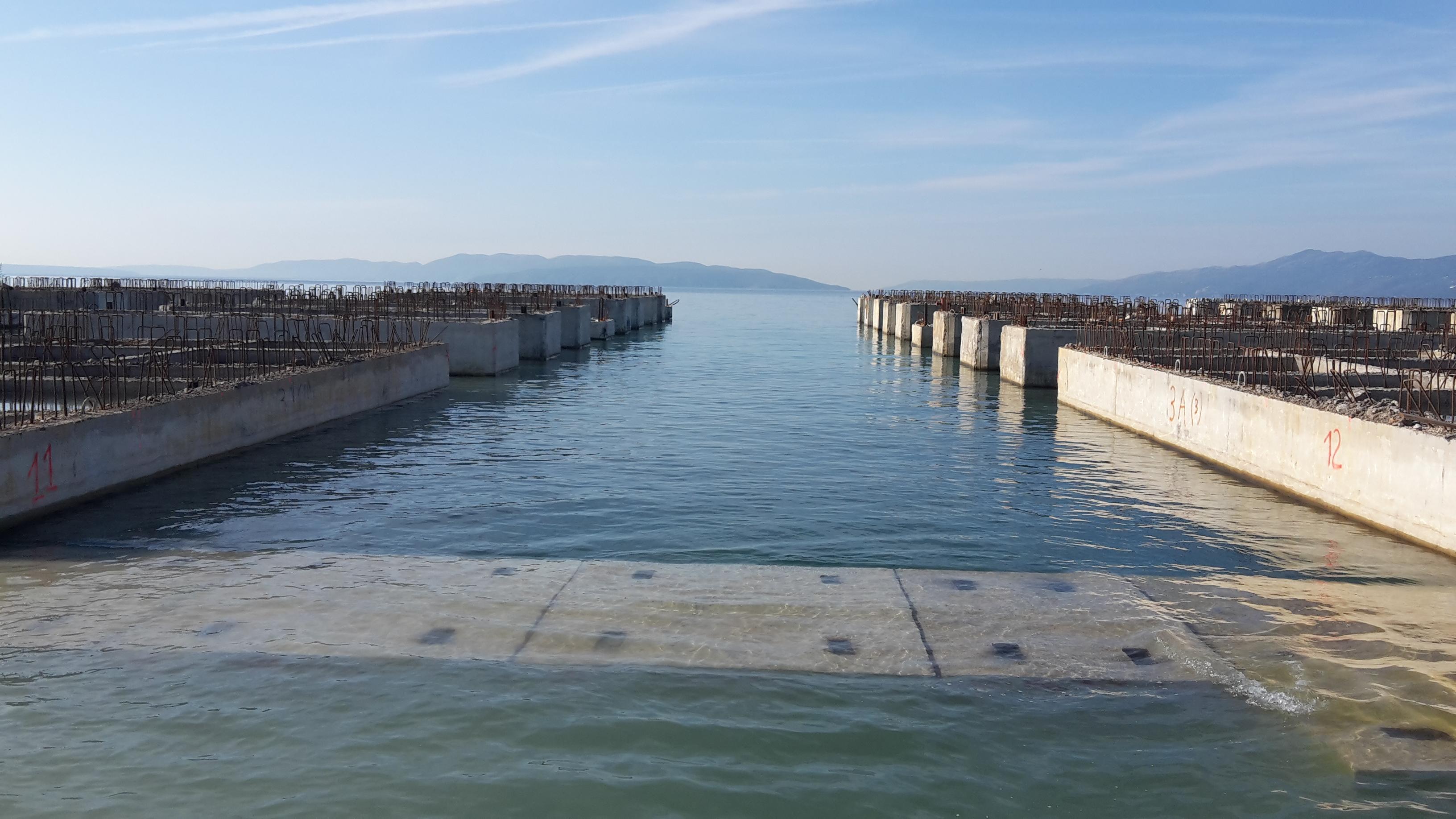 Izgradnja Zagreb Deep Sea kontejnerskog terminala - 2016. godina