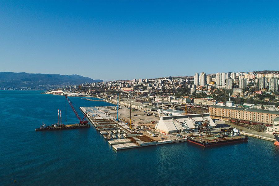 Izgradnja Zagreb Deep Sea kontejnerskog terminala - 2019. godina