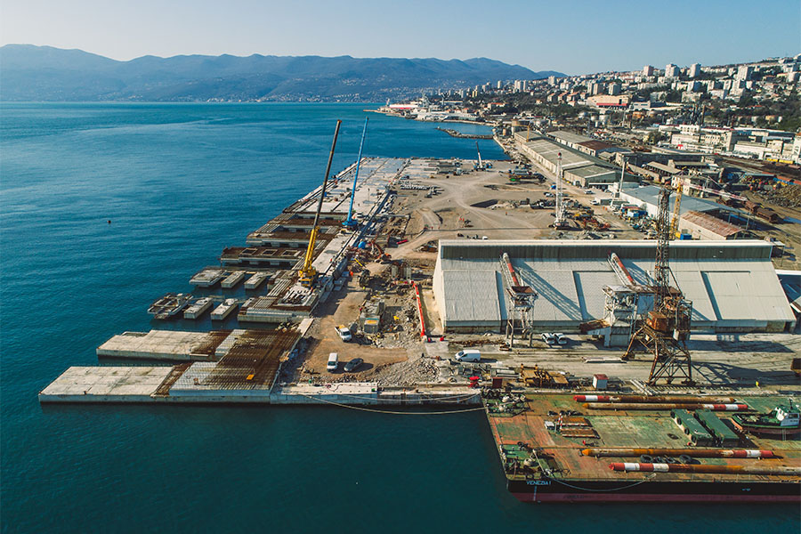 Zagreb Deep Sea Container terminal