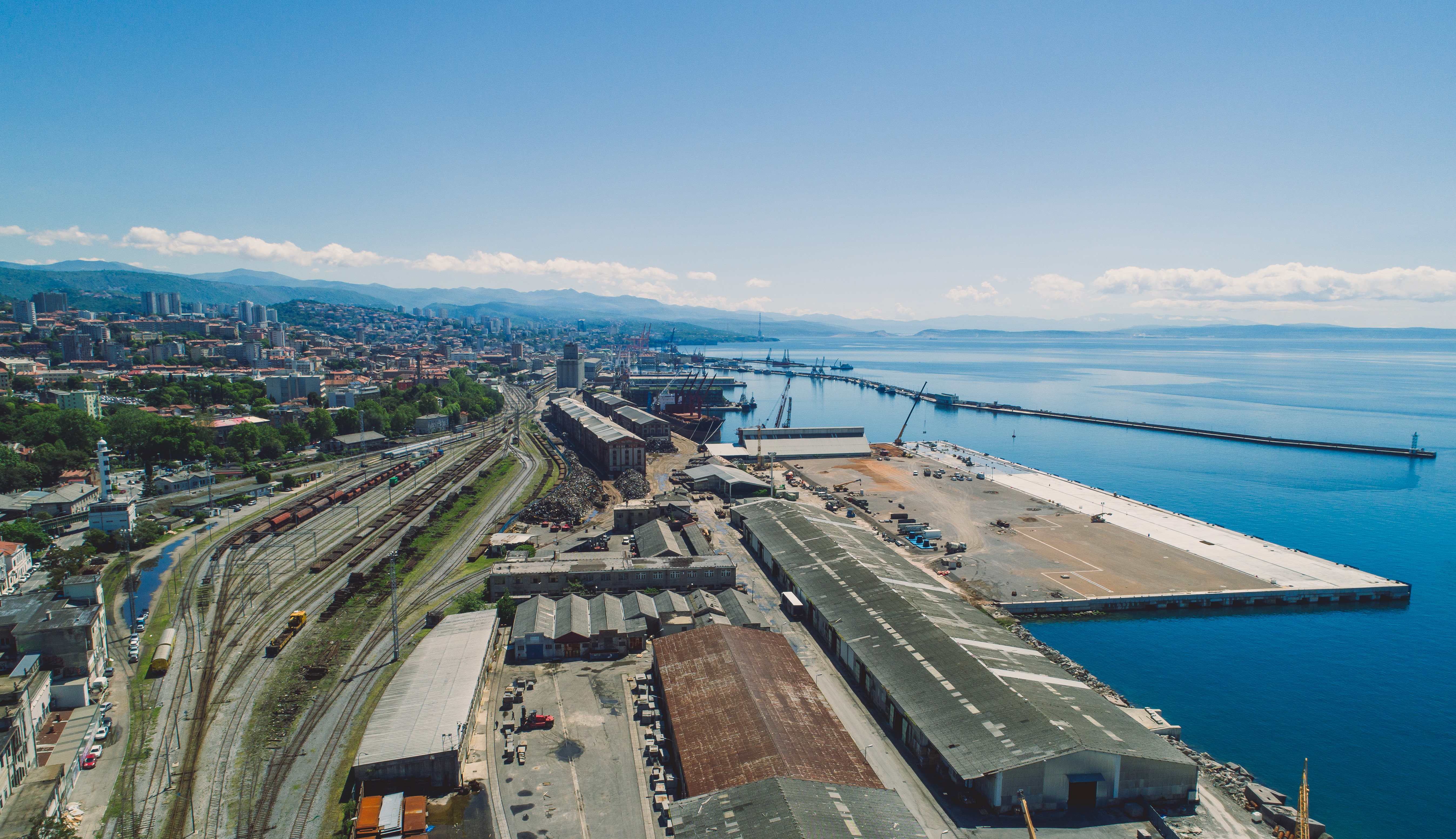 Completion of construction works on the Zagreb Deep Sea Container Terminal - Year 2019