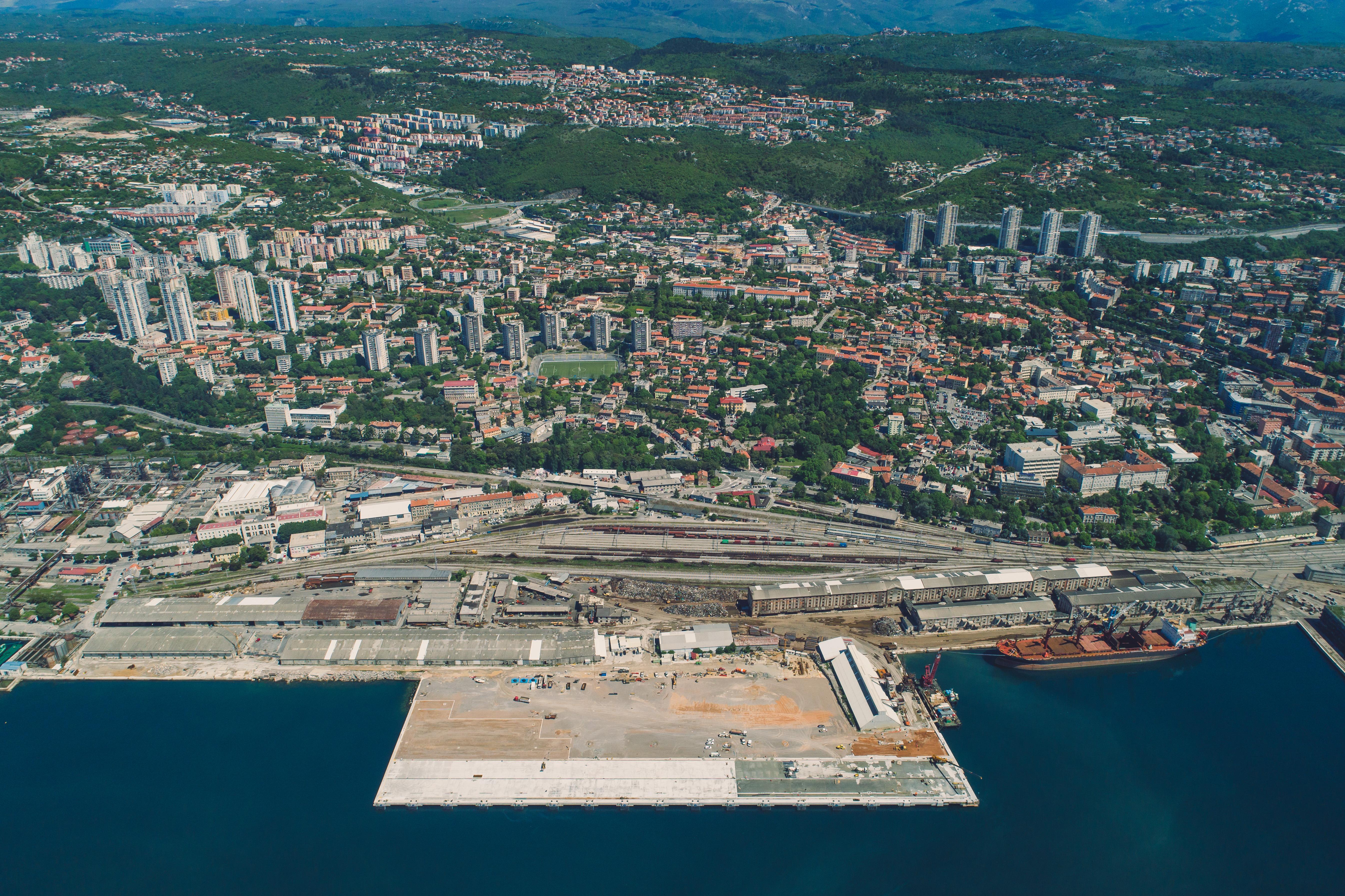 Završetak radova na izgradnji Zagreb Deep Sea kontejnerskog terminala - 2019. godina