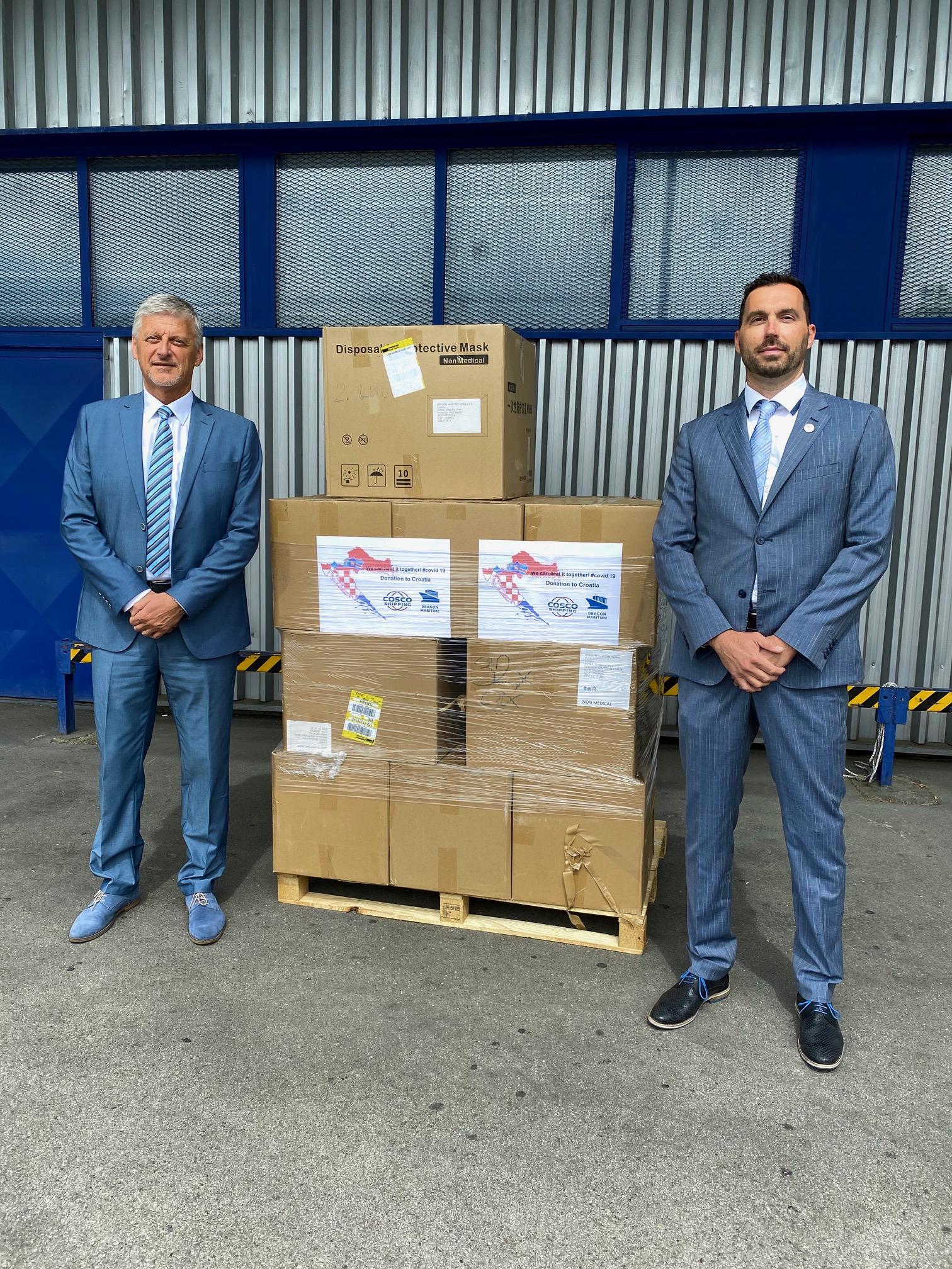 25.200 zaštitnih maski - donacija medicinske zaštitne opreme