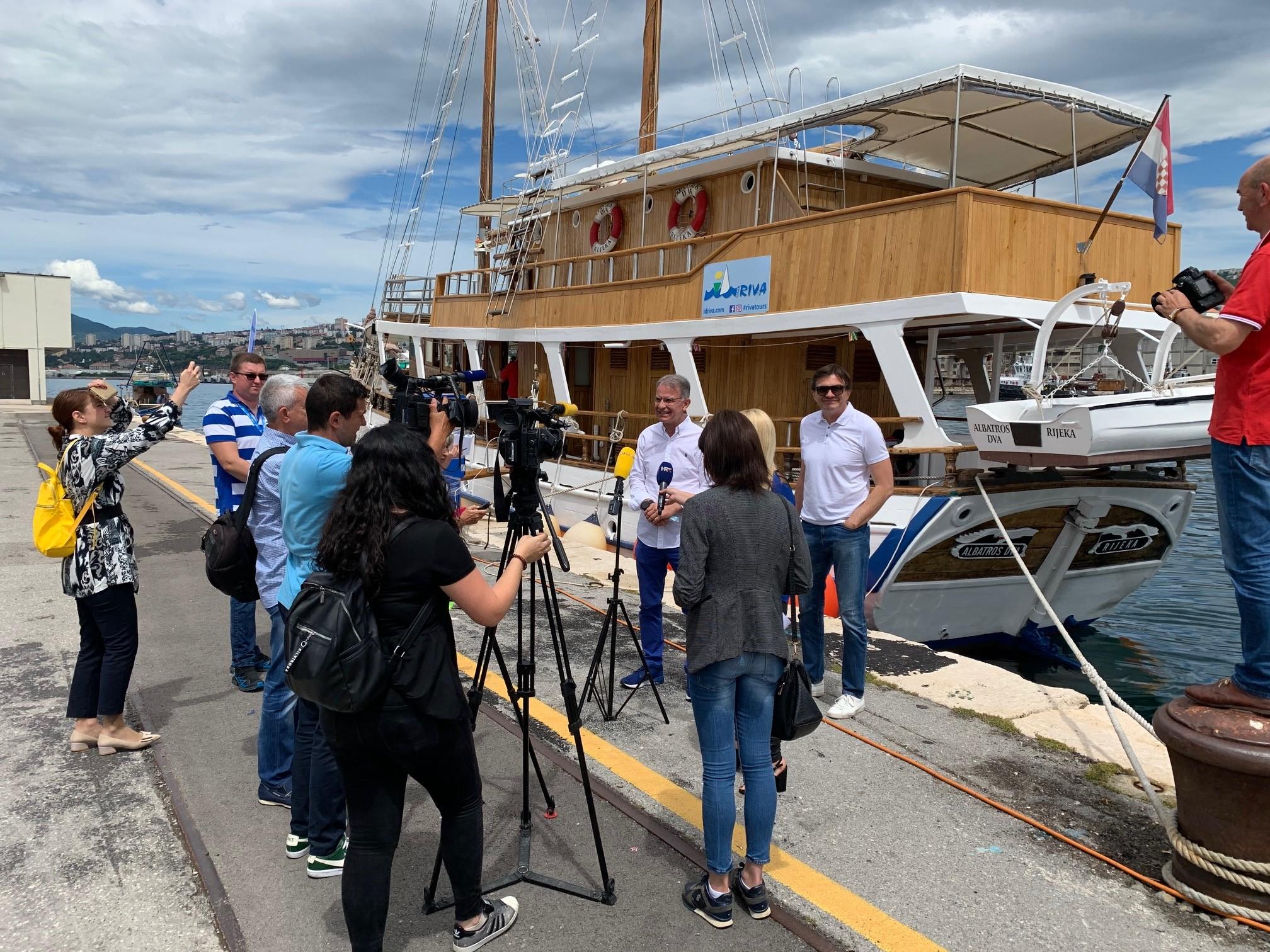 Krenulo krstarenje turističkih brodova iz riječke luke