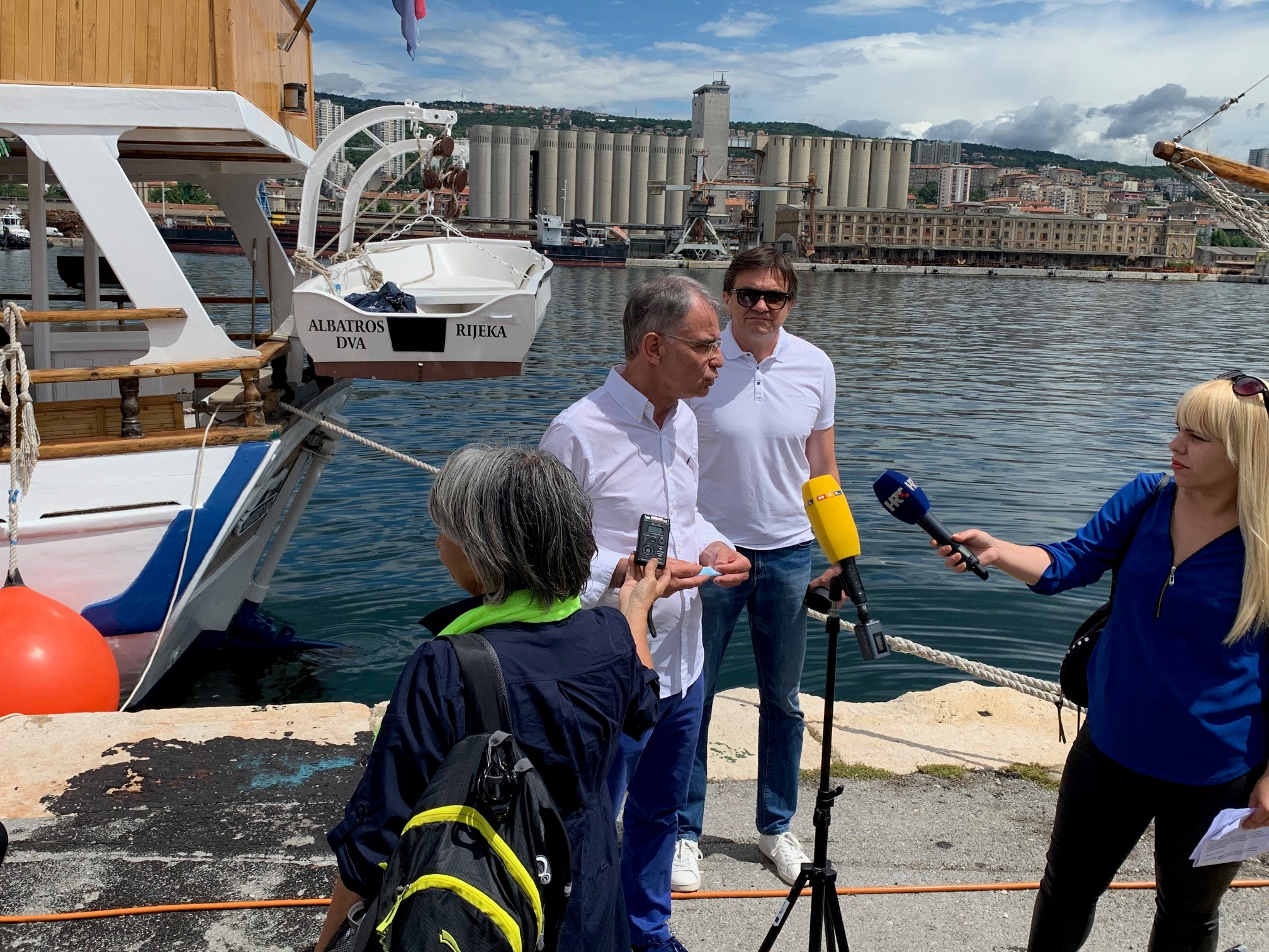 First touristic vessels departing from Rijeka Port