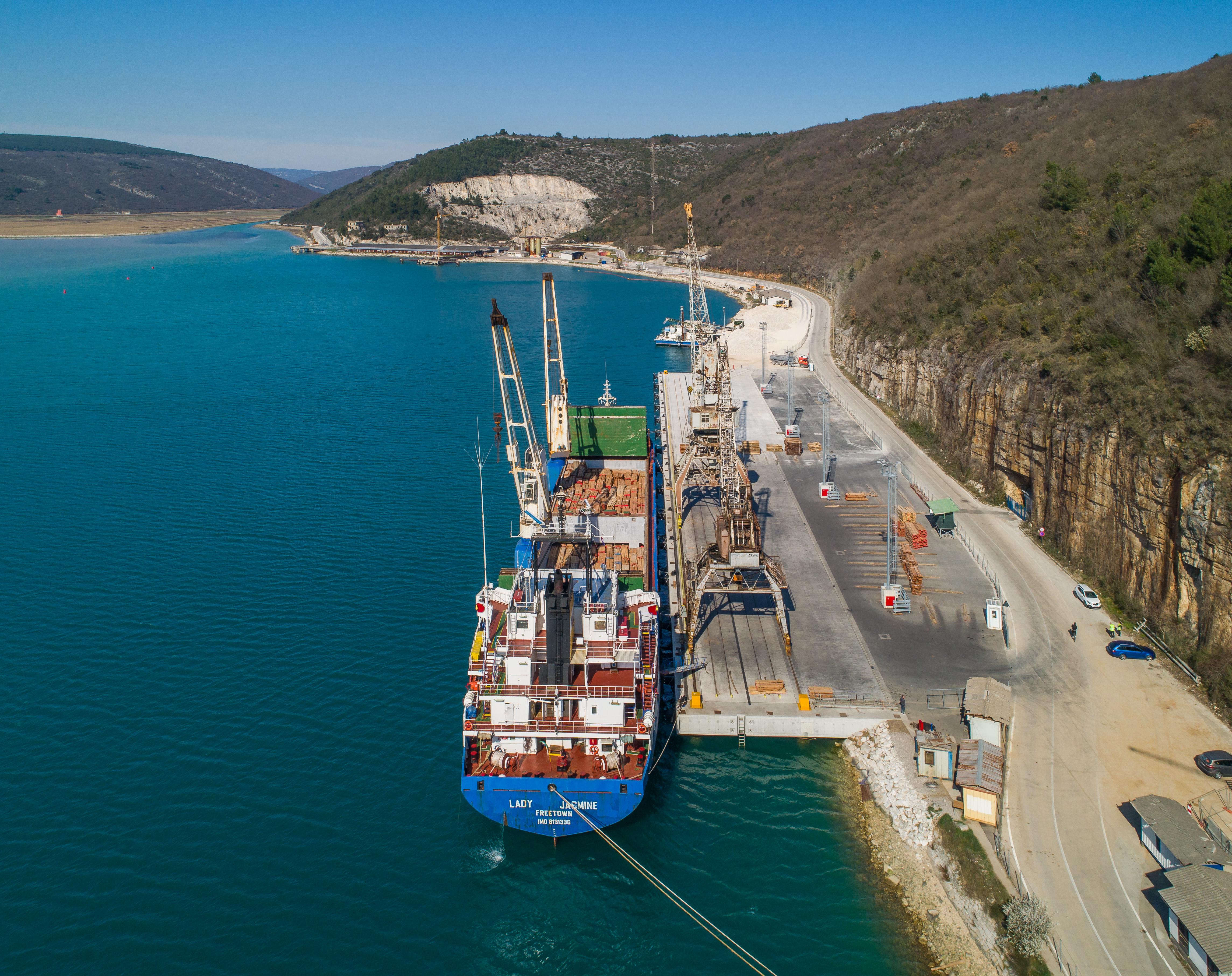 Unaprjeđenje infrastrukture luke Rijeka – terminal za generalne terete (POR2CORE-GCT)