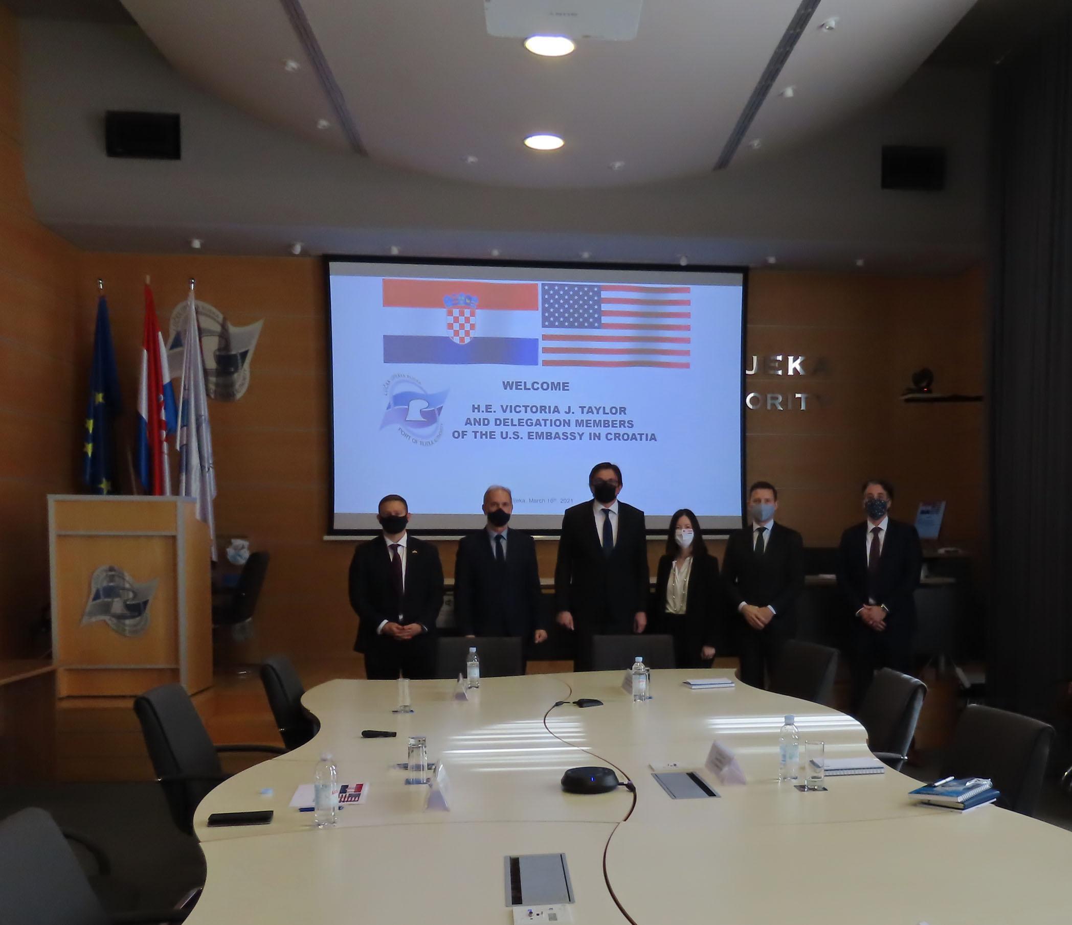 Visit of the U.S.Embassy in Croatia